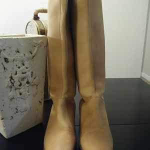 Zara leather women's bootsr